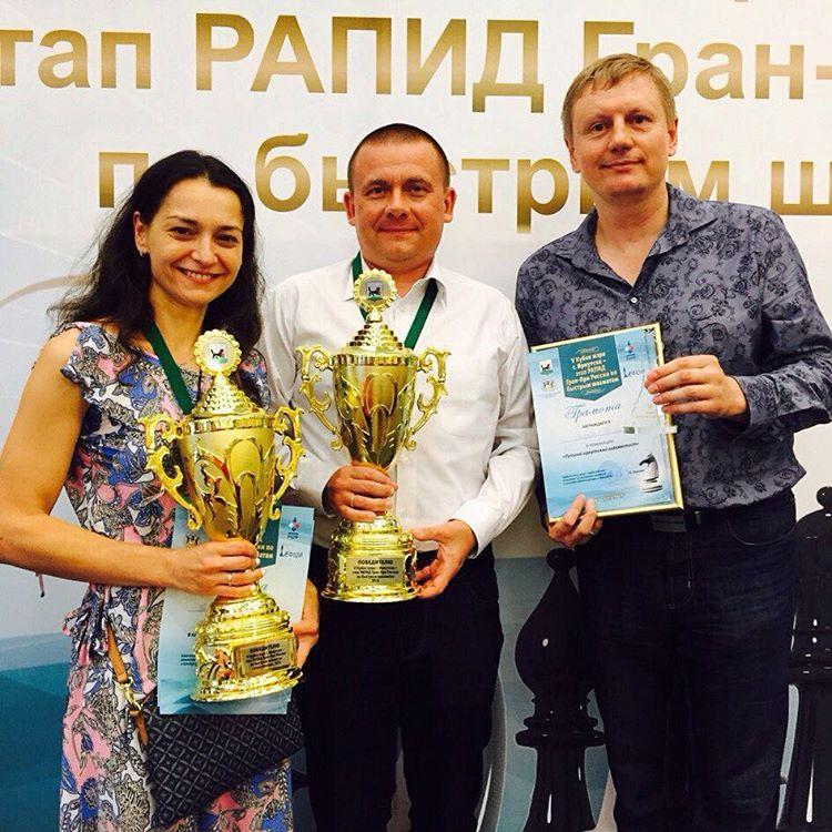 5-й Юбилейный Кубок Мэра г. Иркутска по быстрым шахматам.